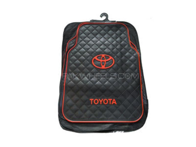 Universal Rubber Floor Mats - Toyota Image-1