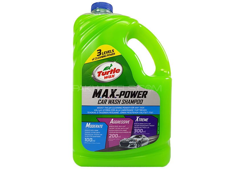 Turtle Max Power Car Wash 2.95L in Lahore