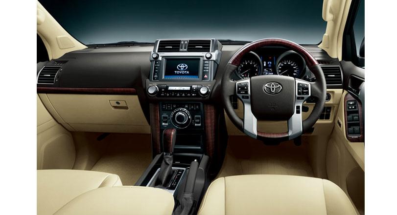 Toyota Prado 2019 Interior