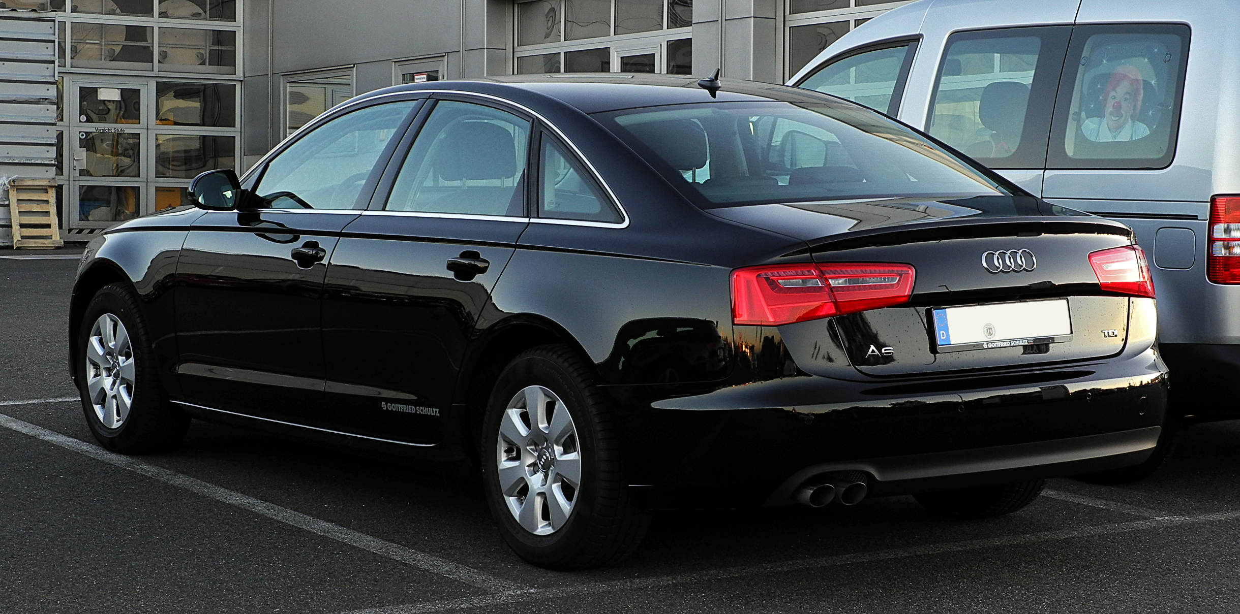 Audi A6 2019 Exterior Rear Side View