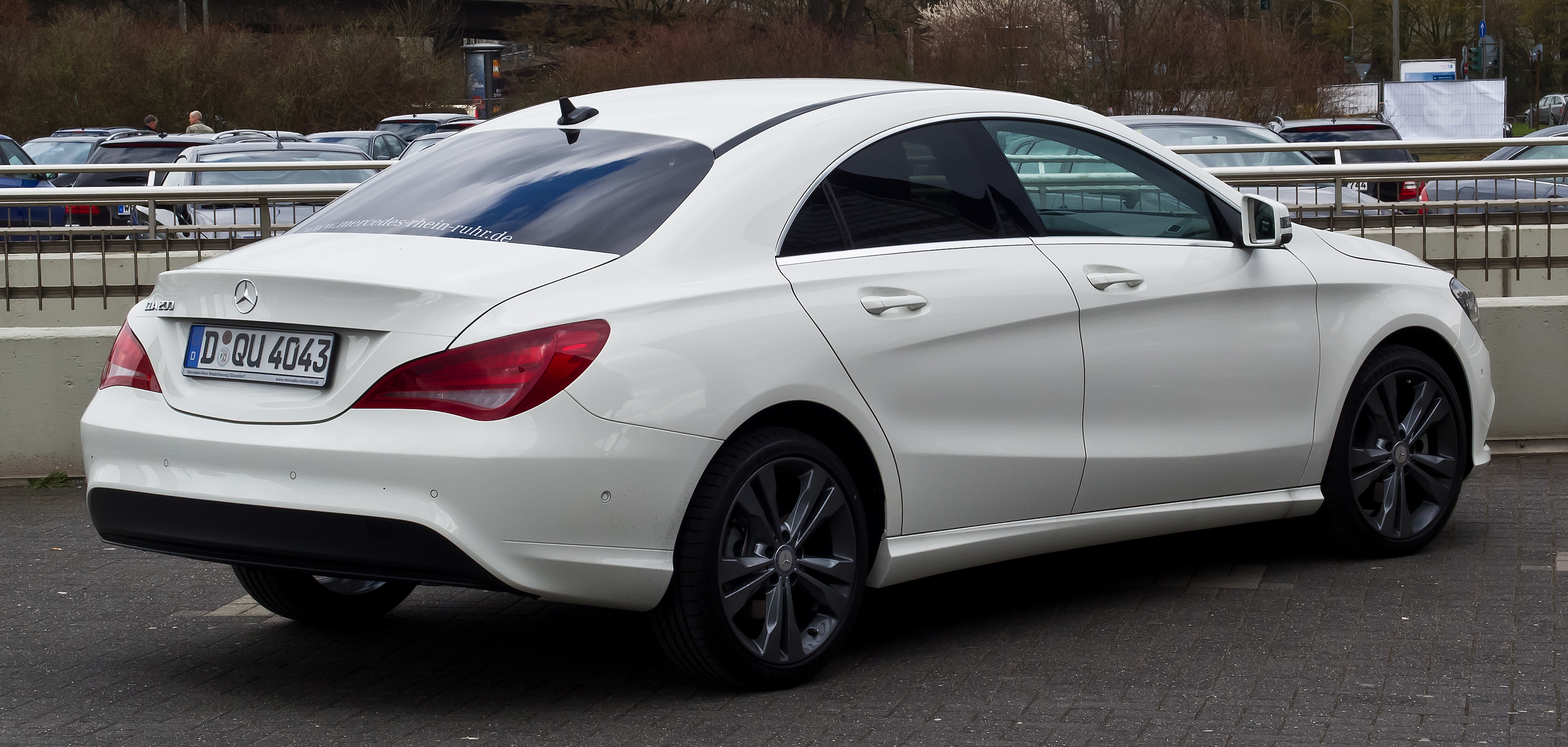 Mercedes Benz CLA Class  Exterior Rear Side View