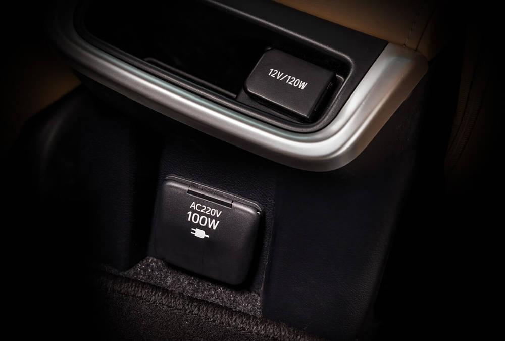 Toyota Fortuner 2019 Interior Smart Charging Connectors
