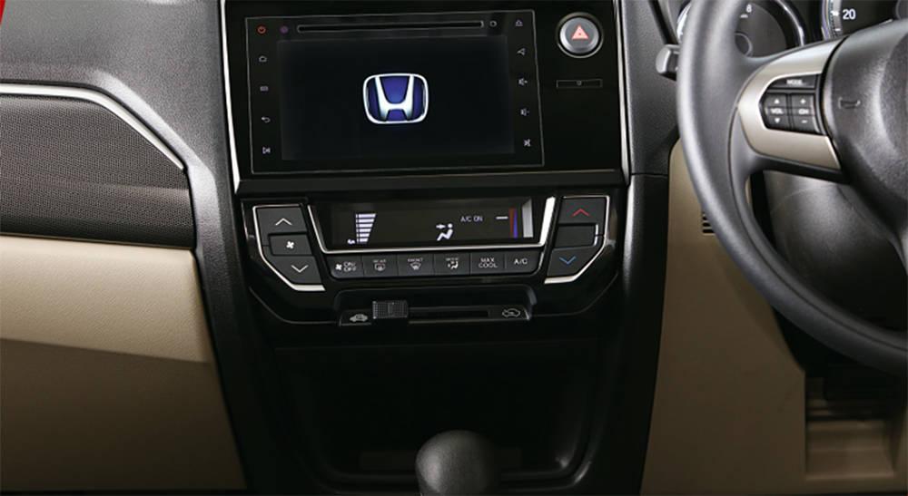 Honda BR-V 2019 Interior Digital Air conditioning