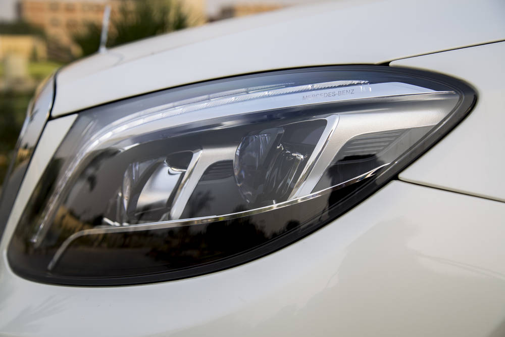 Mercedes Benz S Class 2019 Exterior Head Lamps