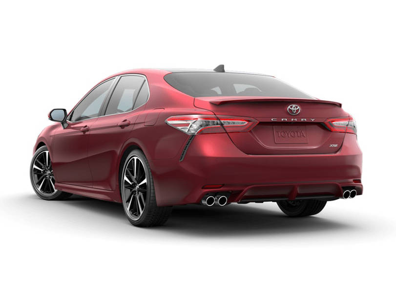 Toyota Camry 2019 Exterior Rear View